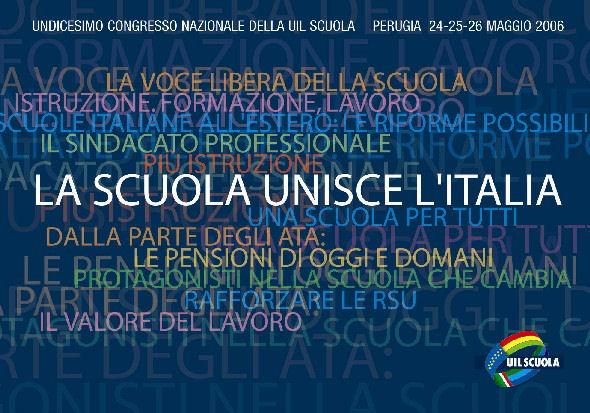 11° congresso nazionale. La scuola unisce l'Italia