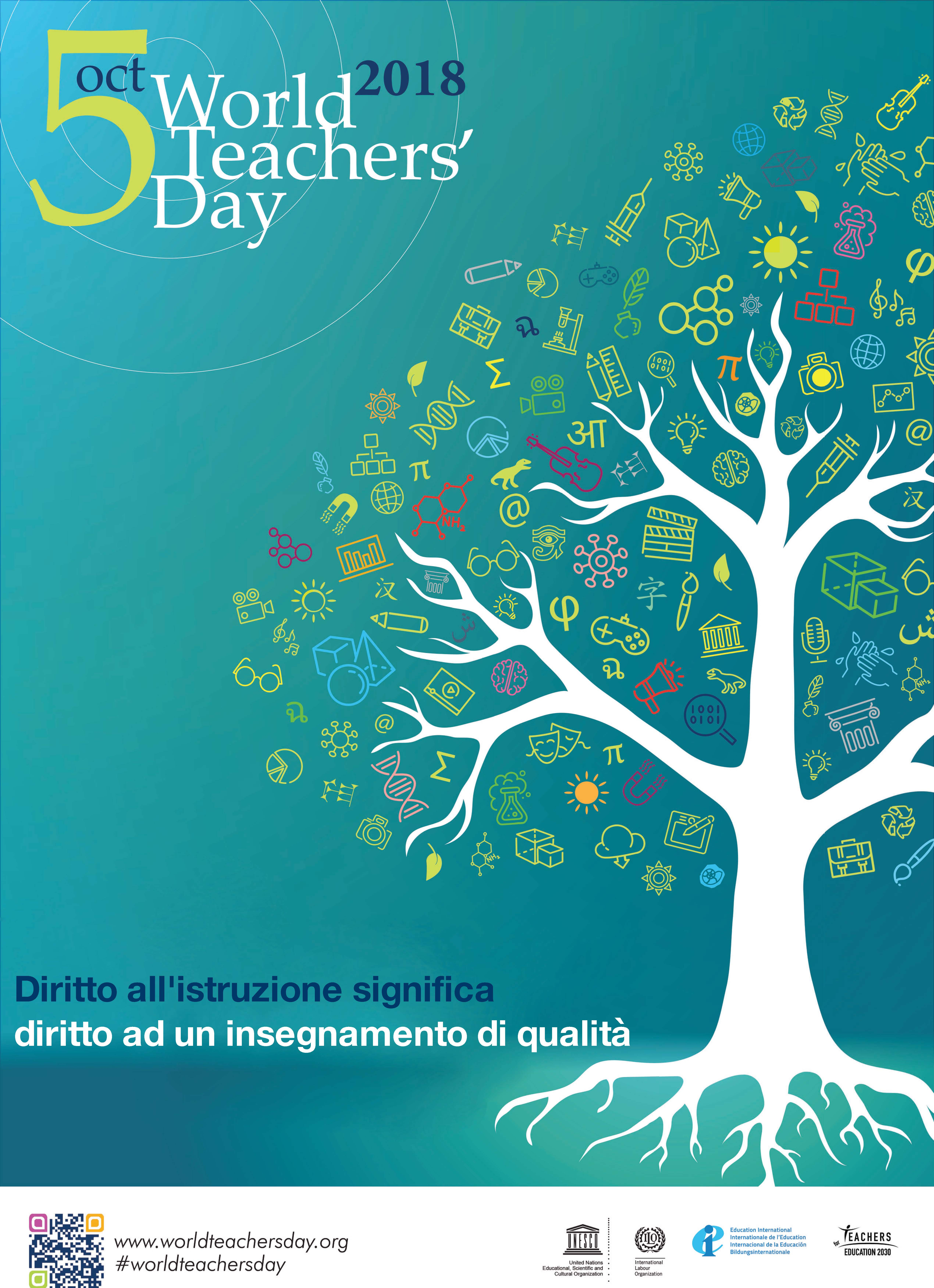 5 ottobre | Giornata mondiale degli insegnanti