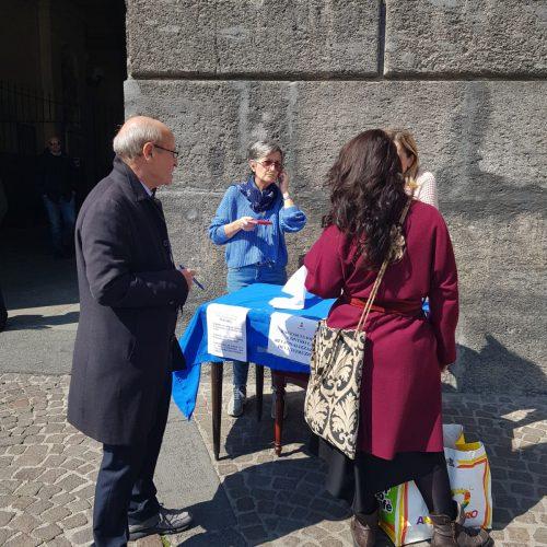 Il Comune di Napoli è parte attiva nella raccolta firme