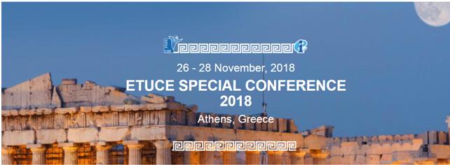 Conferenza di organizzazione del CSEE – Atene 26-28 novembre