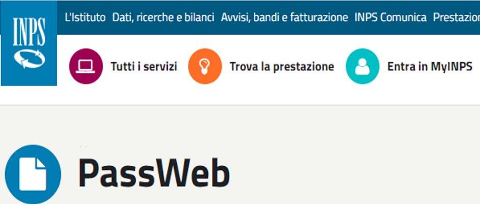 Avvio procedure per le cessazioni dal servizio dal settembre 2020 e nuovo passweb