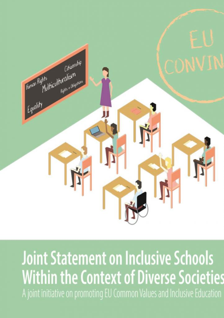Conferenza finale del progetto EU CONVINCE sulla promozione dei valori comuni della Ue e di una educazione inclusiva