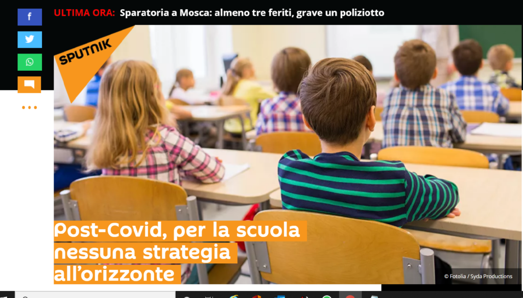 Post-Covid, per la scuola nessuna strategia all'orizzonte >>> INTERVISTA