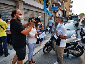 Immagine della galleria: GPS / Le manifestazioni di protesta in Puglia e Campania
