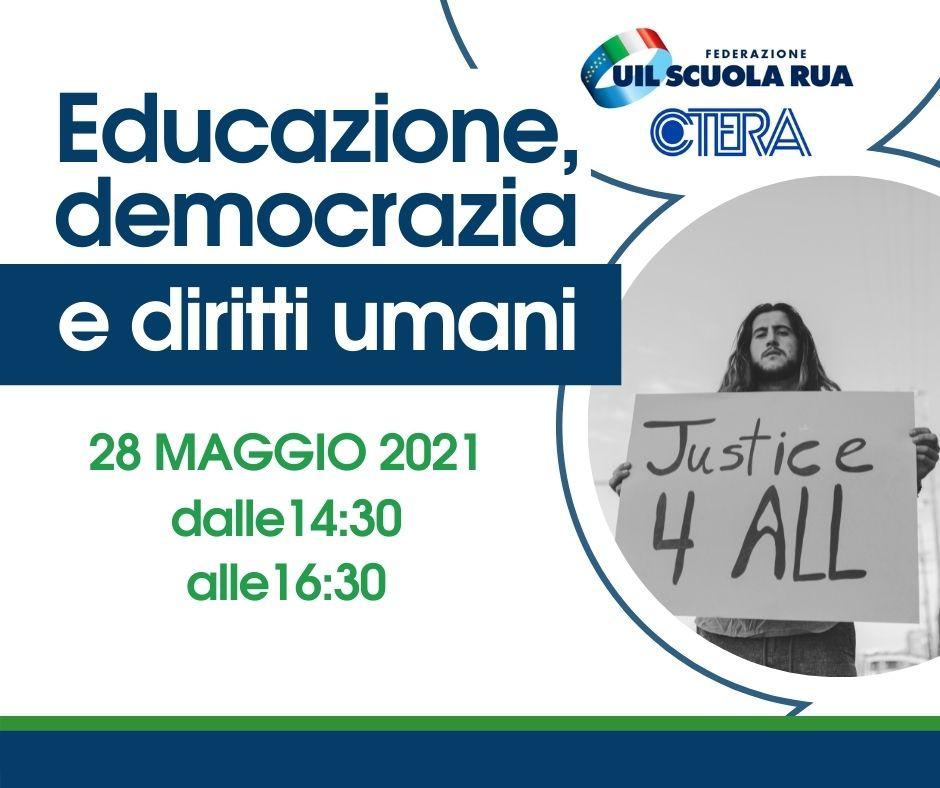 Istruzione: punto di partenza per la difesa della democrazia e dei diritti umani