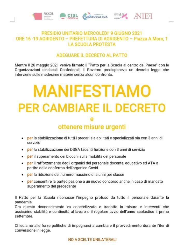 Immagine della galleria: 9 giugno – manifestazioni in Italia