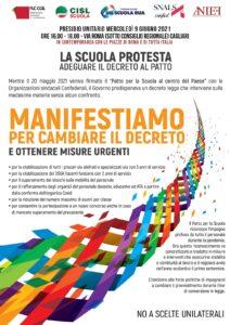 Immagine della galleria: Sindacati in piazza il 9 giugno per cambiare il decreto Sostegni bis